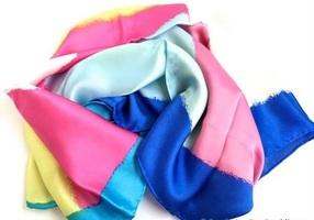 Watercolor 100% Silk Scarf
