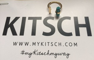 Kitsch Ring - Turquoise