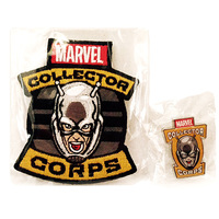 Marvel Collector Corps Ant-Man Collector's Patch and Pin