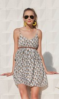 Oat and Fawn Dress