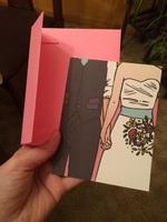 """Favorite Couple"" wedding card"