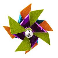 Leaps & Bounds Pinwheel Cat Toy
