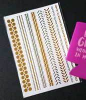 Mission Cute-Summer Glitz Metallic Tattoos