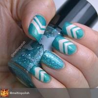 Aqua Cristaline Glitter