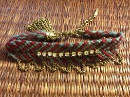 Woven and Copper Bracelet