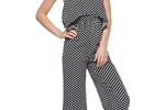 Miss Love Polka Dot Jumpsuit