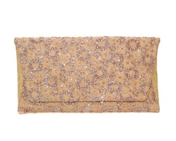 Deux Lux Mimosa Clutch- Rose Gold