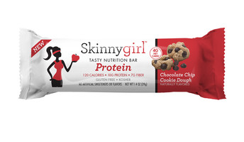 Skinnygirl Chocolate Chip Cookie Dough Protein Bar