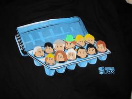 """Dr. Who """"Dozen Eggs/Doctors"""" T-Shirt"""