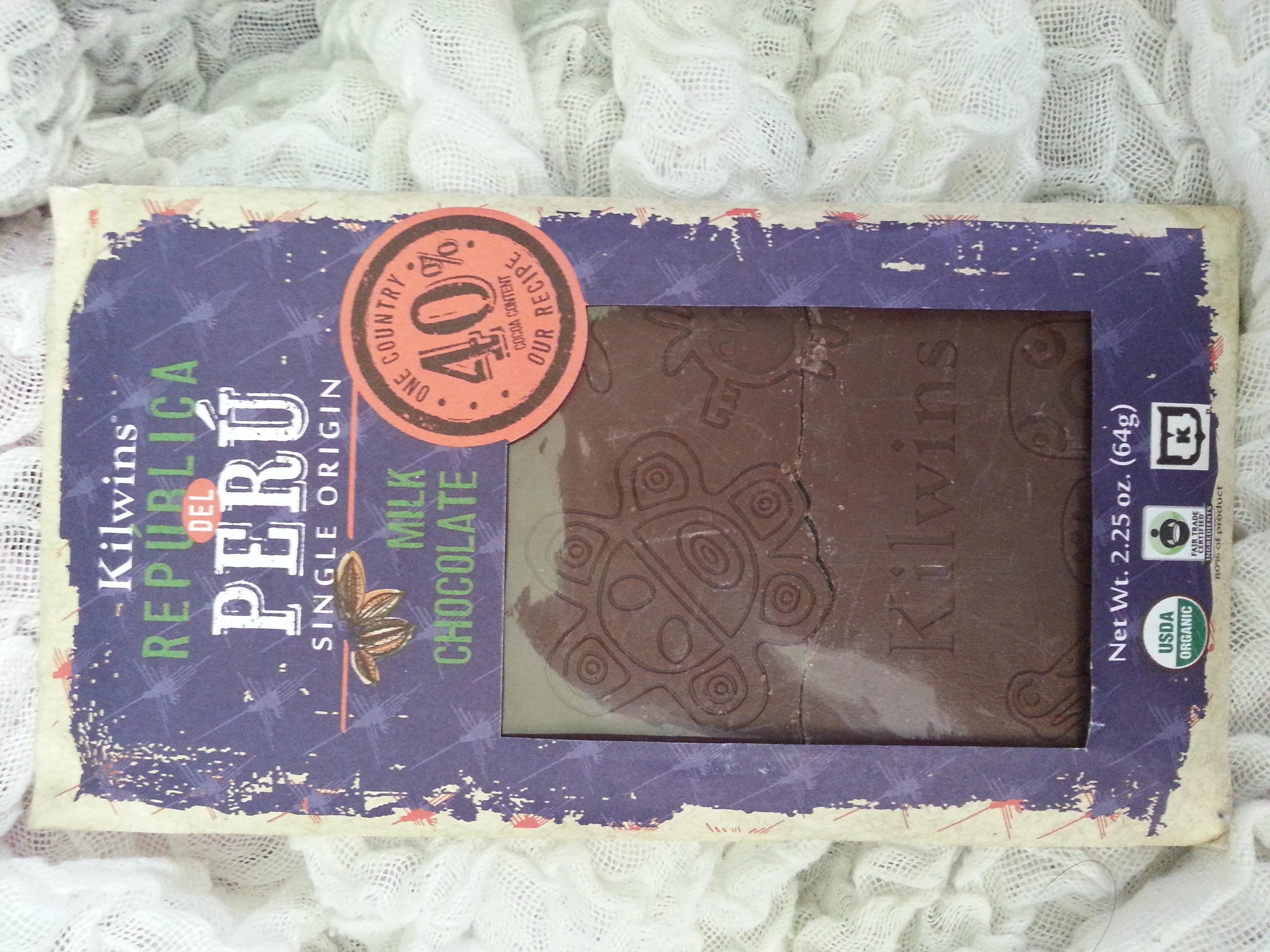 Kilwins Republica Del Peru Single Origin Milk Chocolate