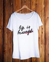 Kingies Paris Life is Beautiful T-Shirt