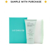 Liz Earle Cleanse & Polish cleanser and muslin cloth