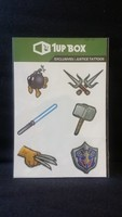 Justice Tattoos - 1Up Box exclusive