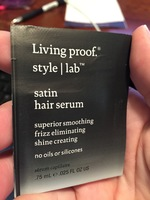 Living Proof Style Lab satin hair serum