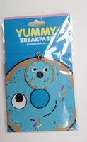 KidRobot Yummy Breakfast Enamel Keychain