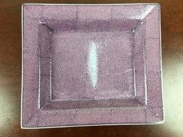 Shagreen tray by Tazia
