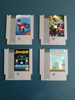 Classic Console Cartridges Coasters