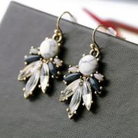 Maribelle Marble Earrings