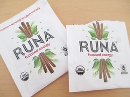 Runa Focused Energy Cinnamon Lemongrass Guayusa tea