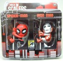 SDCC 2014 NECA Exclusive Scalers - Spider-Man & Iron Man