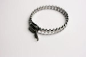 Silver Zipper Bracelet