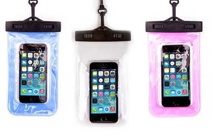 Waterproof Bag and Armband for Smartphones