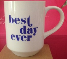 Fringe Studio 'Best Day Ever' mug
