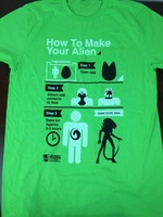 How To Make Your Alien T-shirt