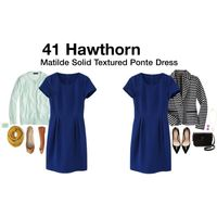 41 Hawthorn Matilde Dress - Blue - Size Medium