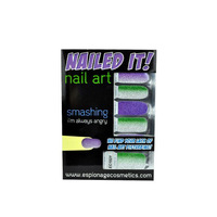 Espionage Cosmetics Nailed It! nail art wraps in Smashing