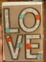 Hallmark Signature LOVE card