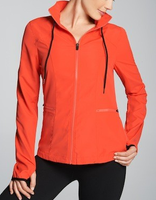 Fabletics Ninety Six Windbreaker in Fiery Red