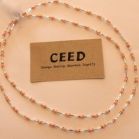 CEED Gold w/Red Waist Beads