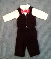 Carter's two piece boy suit