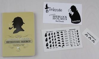 Inspired Nails Sherlock Holmes Nail Decals