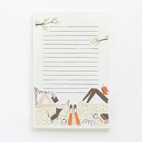 Quill & Fox Book Club Notepad