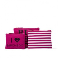 I love Birchbox bag trio