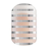 Jamberry Silver Stripe