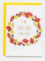 I'm Falling For You Card