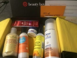 Target Beauty Box Fall 2015