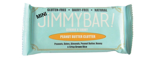 Jimmy Bar Clean Snack Bar 'Peanut Butter Clutter'