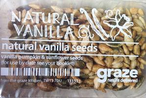Vanilla pumpkin and sunflower seeds