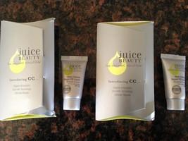 Juice Beauty Stem Cellular Repair CC Cream samples - Natural Glow and Warm Glow