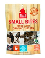 Plato Pet Treats Small Bites Organic Chicken
