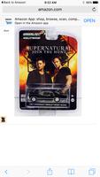 Loot crate supernatural Impala 1:64