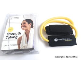 Strength Tubing Ankle & Tone Body Tone with Tubing: Lower Body & Core DVD by Merrithew