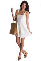 Mystic Fit & Flare Dress - Ivory