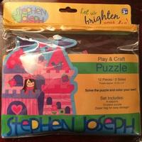 Stephen Joseph Play & Craft Puzzle - Princess Castle