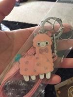 Alpaca Key Chain