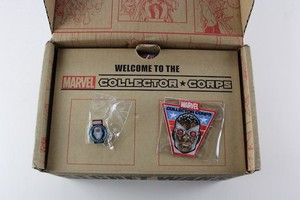 Marvel Collector Corps Pin and Patch